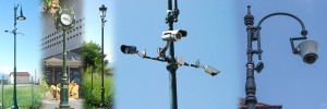 Stâlpi Suporți CCTV