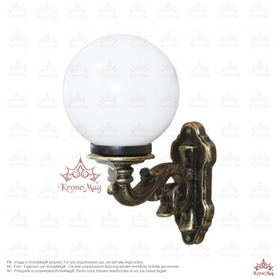 Consolă,Lampă Iluminat Exterior de Perete din Aluminiu TA-100.G200A