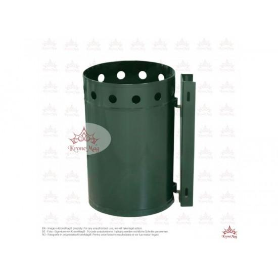 Coș Gunoi Metalic cu prindere pe Stâlp URBAN 31