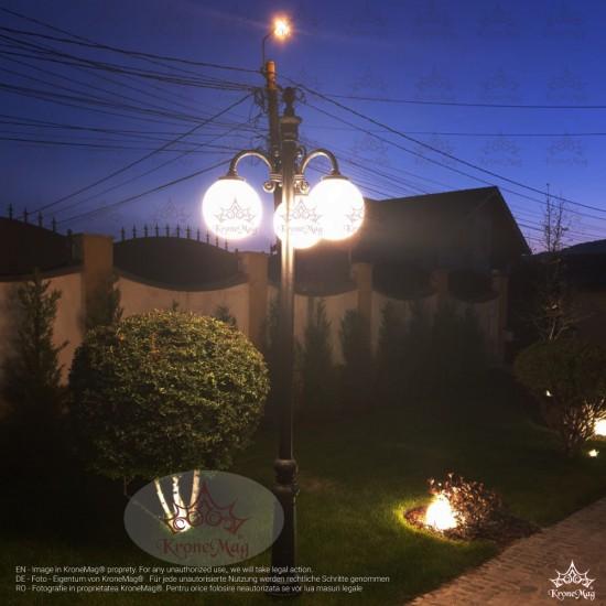 Stâlp de Iluminat Metalic pentru Parcuri VILLA-3