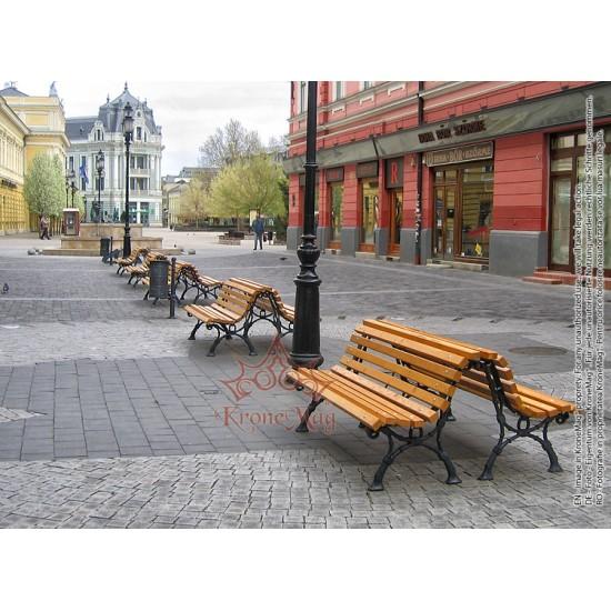 Bancă Parc 701-FR-Mobilier Parc