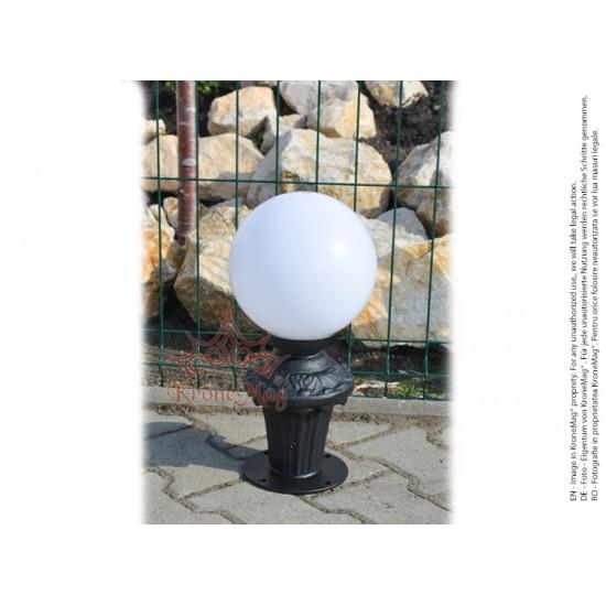 Stâlpișor Iluminat Terasă MS-1B-Glob 250