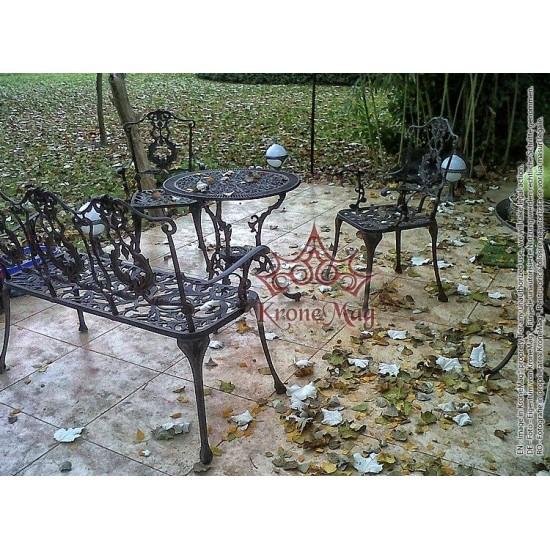 Set Mobilier Terasă,Grădină MESSOLD 2FB