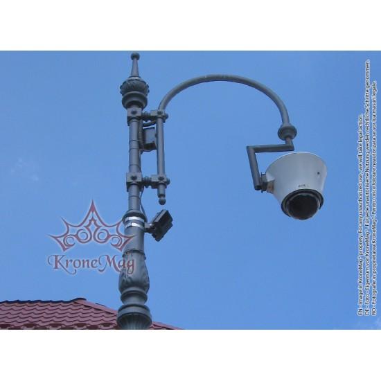 Stâlp Suport Monitorizare Video CCTV D2-H1
