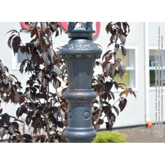 Stâlp Iluminat Terasă,Grădină,Curte din Fontă A-1b