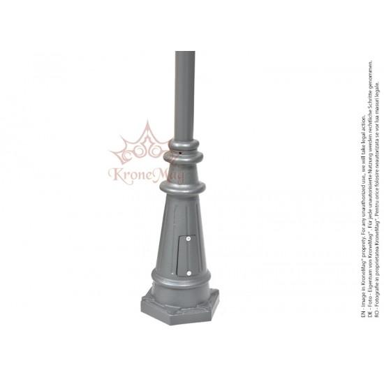 Stâlpi de Iluminat Metalici pentru Parcuri BL134-2C