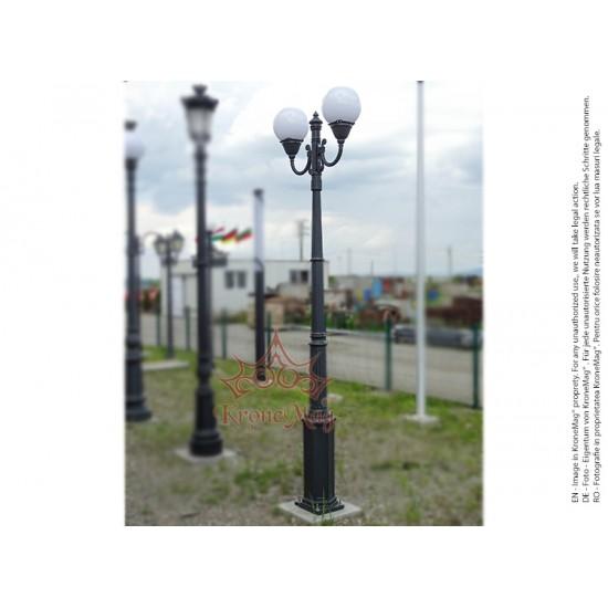 Stâlp Iluminat Grădină,Curte din Fontă BL106-2