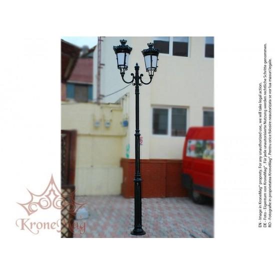 Stâlp Iluminat Grădină,Curte din Fontă VILLA2-2