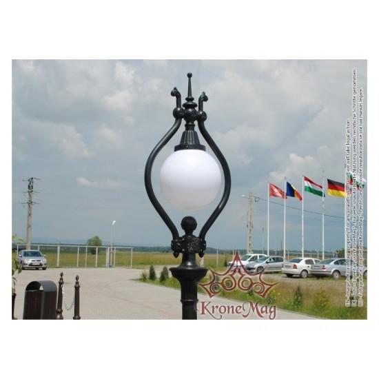 Stalp Iluminat Gradina,Curte din Fonta h-O1