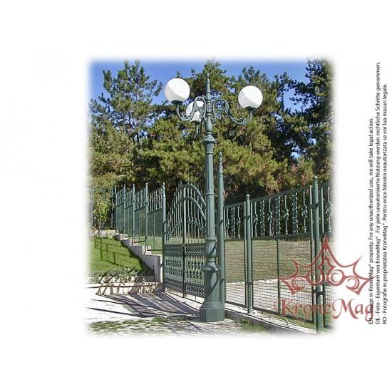 Stâlpi Iluminat Parcuri din Fontă G3-S3