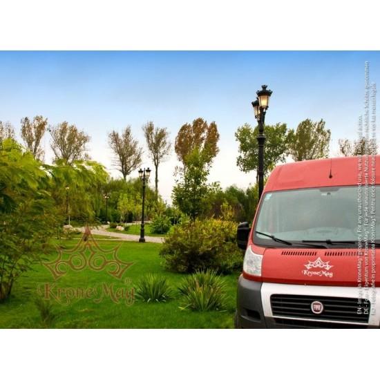 Stâlp Iluminat Decorativ pentru Parcuri din Fontă G31-C2