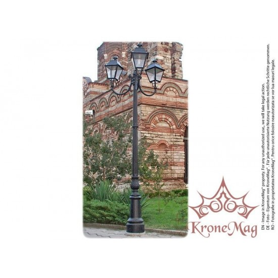 Stâlp Iluminat Decorativ pentru Parc din Fontă R1-U3