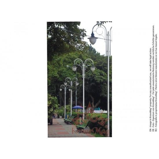 Stâlp Iluminat Exterior Stradal din Aluminiu SAL-R2