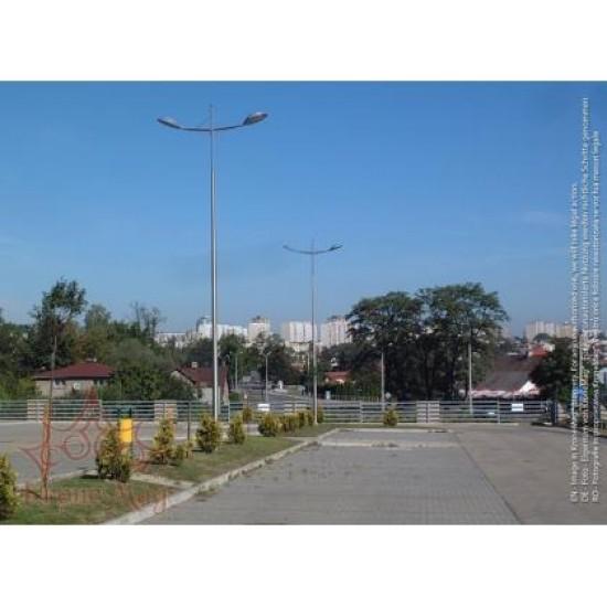 Stâlp Iluminat Stradal din Aluminiu SAL-9.3-WR-13-2