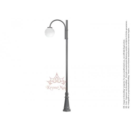 Stâlp Iluminat Parc Metalic BL134-1C