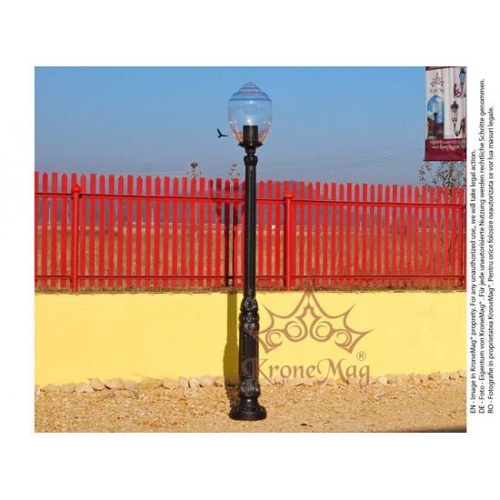 Stâlp Iluminat Parc Metalic cu Înveliș Decorativ Plastic S22-1S