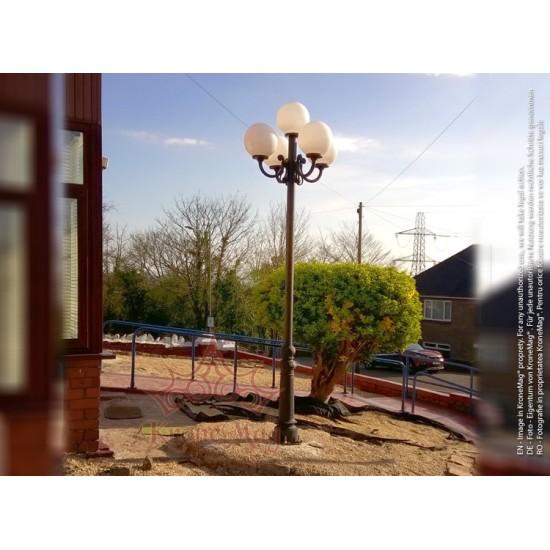 Stâlp de Iluminat Metalic pentru Parcuri VILLA-41