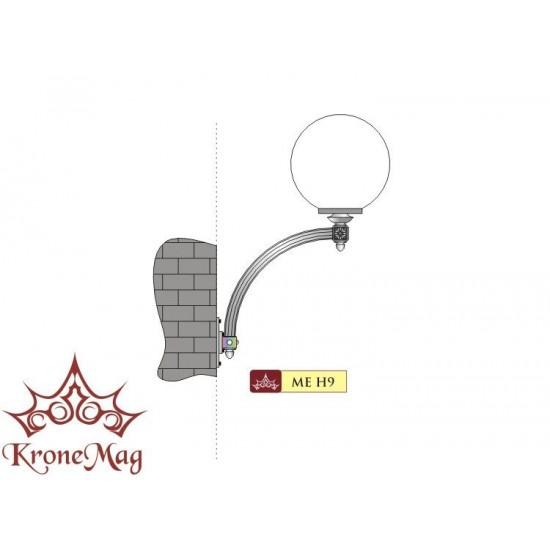 Lampă Perete Iluminat Exterior ME-H9 GLOB400