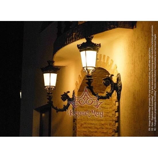 Consolă,Lampă Iluminat Perete Exterior ME109 PALASIO