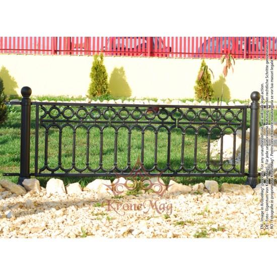 Gard Decorativ Oțel - Fontă MANGALIA - LUX