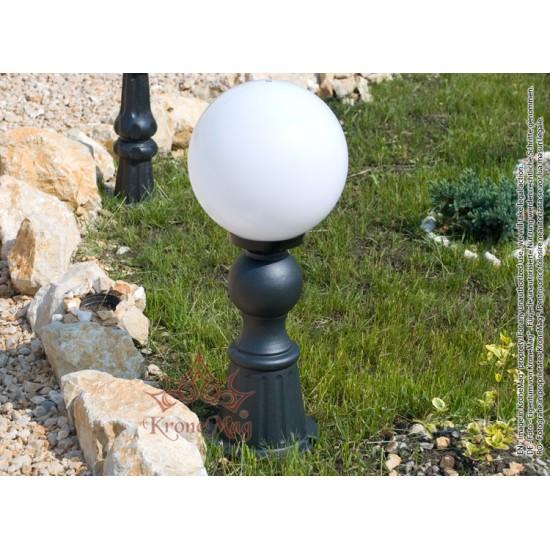Stâlpișor Iluminat Grădină,Curte Fontă SI 925 GLOB300