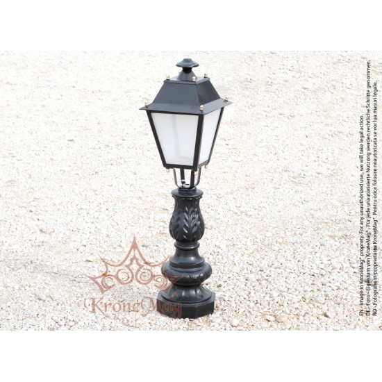Stâlpișor Iluminat Grădină,Curte Fontă SI 982 VILLA