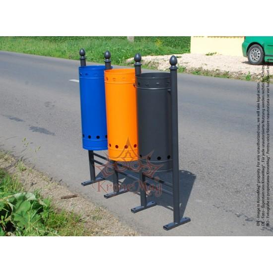 Coș Gunoi Stradal URBAN REC.3.L - Selectiv