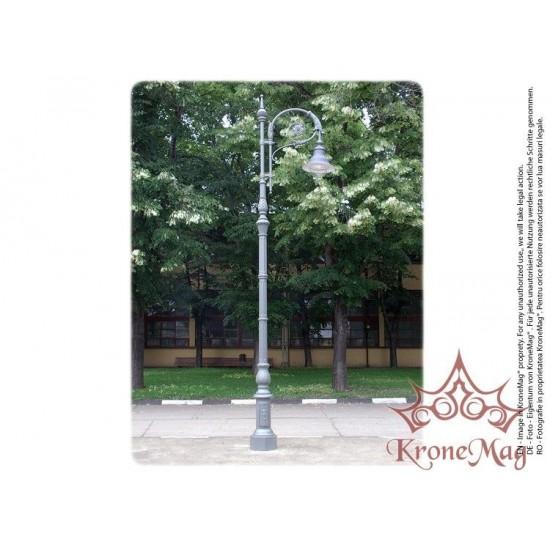 Stâlp Iluminat Stradal Decorativ din Fontă G31-L1