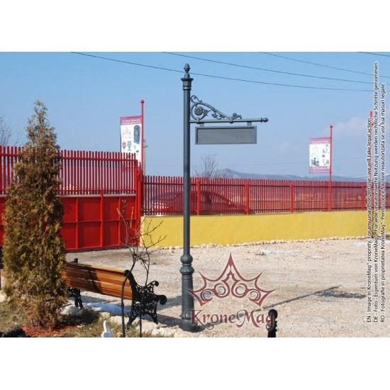 Stâlp Orientare Stradală VILLA-550 INDICO