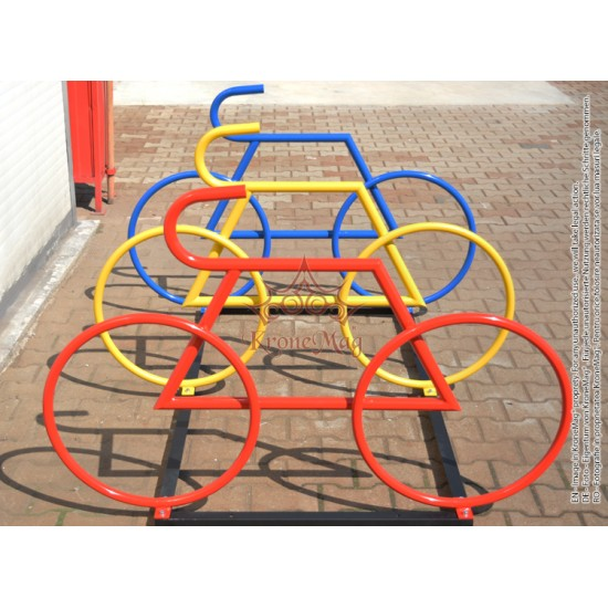Suport Biciclete Metalic Stradal Tricolor BICYCLE-13
